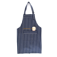 Factory price cheap custom polyester fabric cotton cooking restaurant waiter apron for women and men