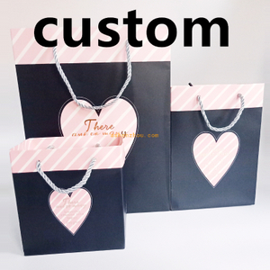 Cheap promotional custom logo print fancy design eco gift pp paper children bag for shopping