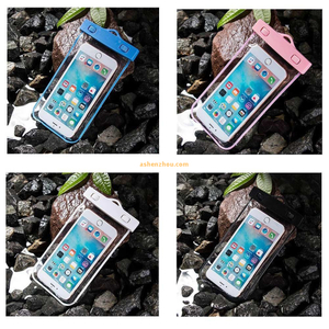 Unbreakable waterproof cell phone case universal mobile dry bag, for iphone waterproof bag mobile phone PVC waterproof bag