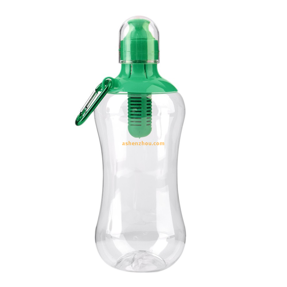Original bobble filtered water bottle with tether cap 550ml BPA Free
