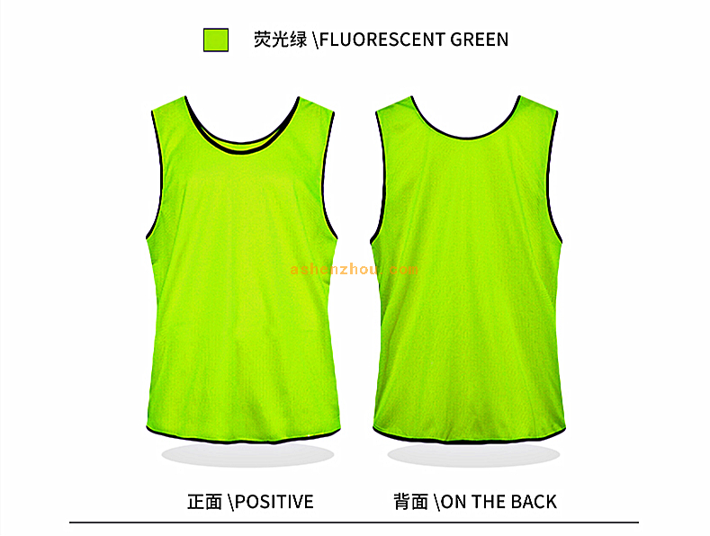Factory direct wholesale custom sports soccer cycling climbing running mesh elastic reflective security safety vest