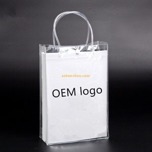 Hot sale promotional custom various beautiful pattern personality printed PVC material Travel tote bags with logo