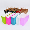 Low cost high quality custom printing eco shopping tote bag PP laminated foldable handle paper bag