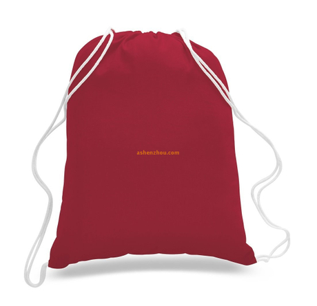 Best quality professional discount custom personalized canvas drawstring shopping bags with cheap price for material wholesale