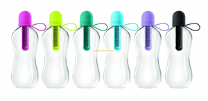 550ml Water hydration filter filtration bottle water bottle with filter, water filter bottle, filter bottle