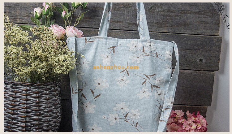 China factory wholesale price custom promotional printed recycled eco-friendly soft cotton bag shopping bags with lining