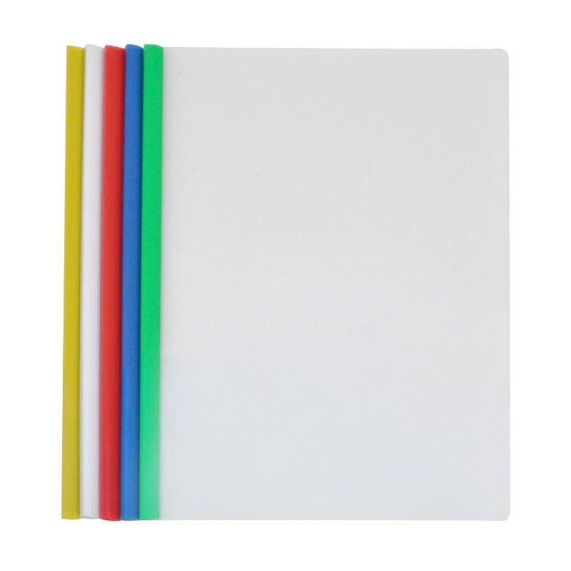 High Quality Custom File Folder A4 L Shaped Pp Plastic Pvc